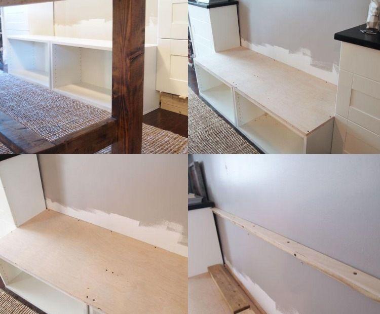 sitzbank mit stauraum unter der sitzfl che selber bauen. Black Bedroom Furniture Sets. Home Design Ideas