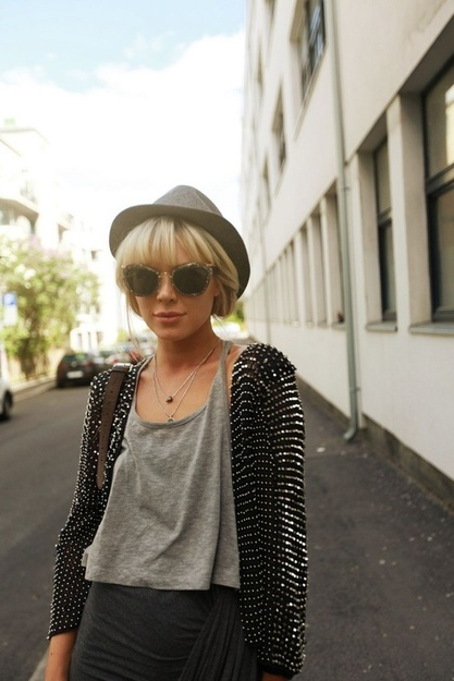 You'll love this urban cool fashion style. Rock whatever style you like.