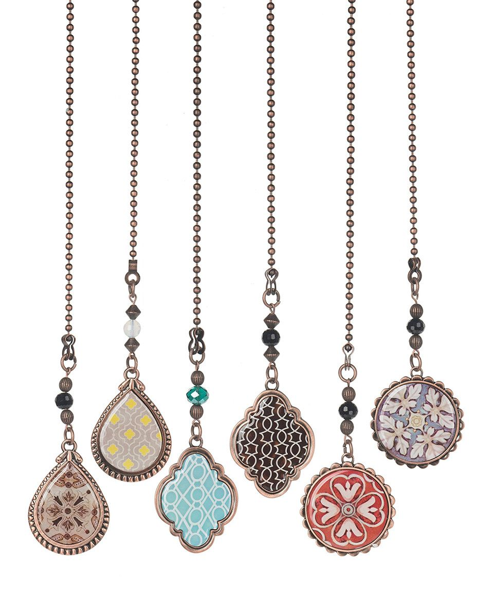 Decorative Chain Pulls Mesmerizing Another Great Find On #zulily Decorative Fan Pull  Set Of Six Decorating Inspiration