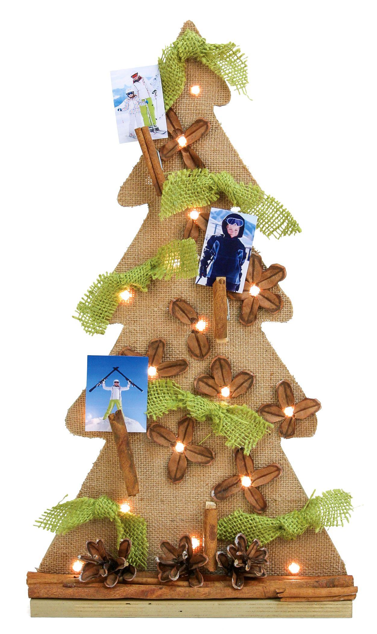 Nicole™ Crafts Rustic Pine Cone Tree #christmas #craft