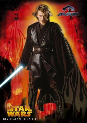 Anakin Poster Star Wars Revenge Of The Sith Star Wars Costumes Star Wars Jedi Star Wars Anakin