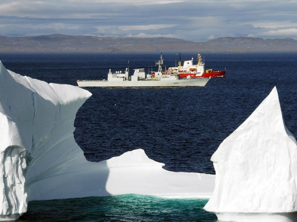 Funding Only Available For Four Arctic Offshore Patrol Ships Says New Report Royal Canadian Navy Coast Guard Ships Canadian Military