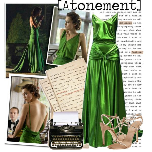 Atonement-Green dress, created by coeurdcoeurs7 on Polyvore | Vogue ...