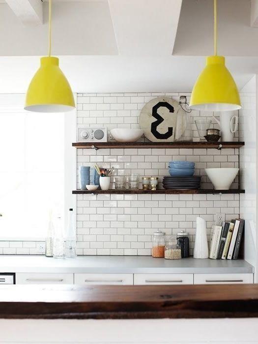 weisse subway fliesen rechteckige in der kueche | küche, Hause ideen