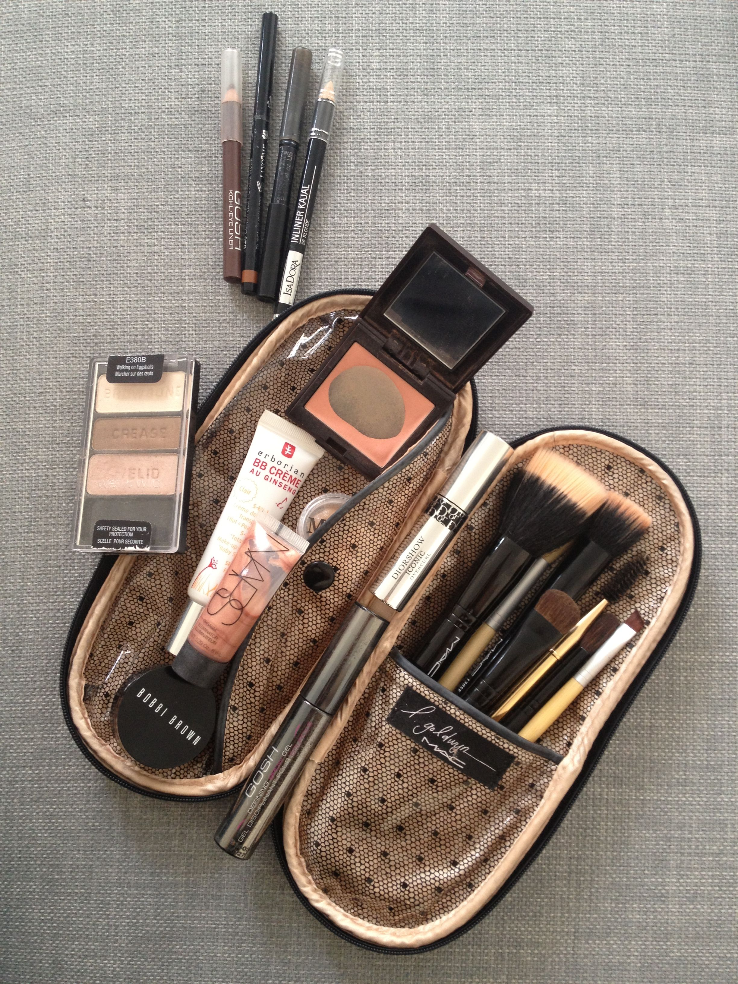 My Everyday Makeup Bag Makeup essentials, Everyday