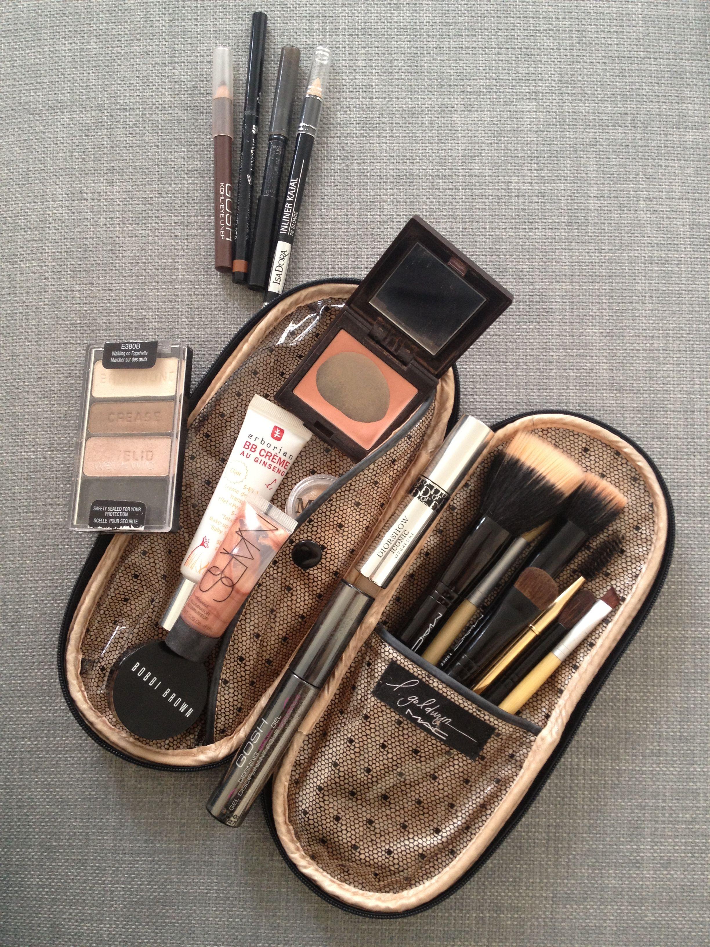 My travel makeup bag Makeup, Hår og skønhed og Negle