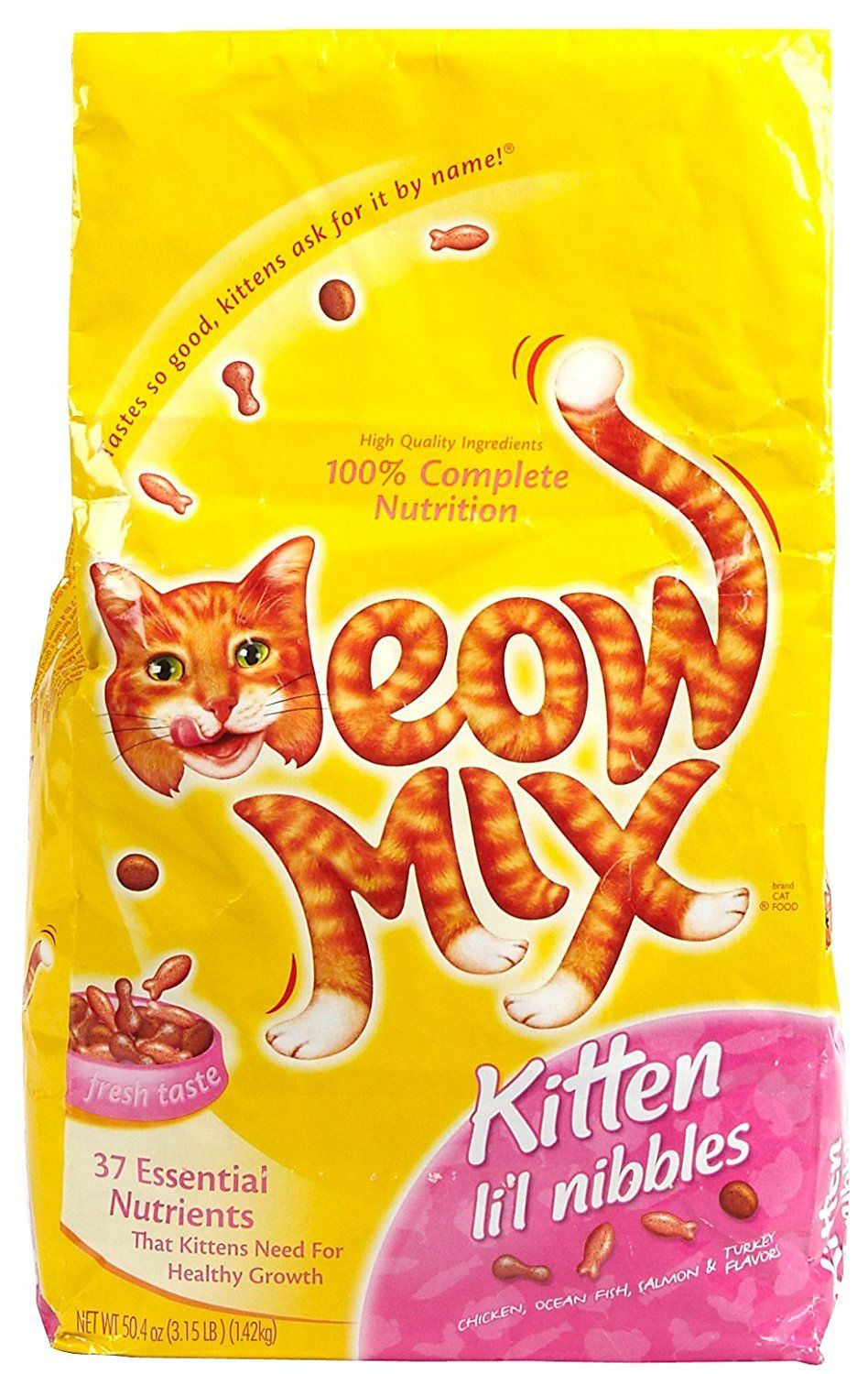 Meow Mix Kitten Li L Nibbles 3 15 Pound Click On The Image For Additional Details This Is An Affiliate Link Dry Cat Food Best Cat Food Cat Food Allergy
