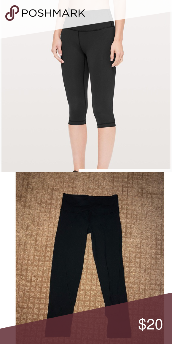 d4ec88d729e7d Low rise cropped lulu lemon pants Low rise, cropped lulu lemon yoga pants  lululemon athletica Pants Leggings