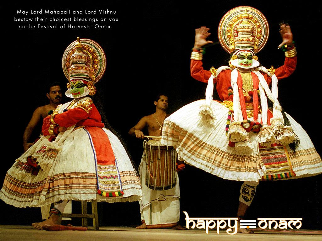Happy onam wishes wallpapers free download dancers pinterest happy onam wishes wallpapers free download kristyandbryce Image collections
