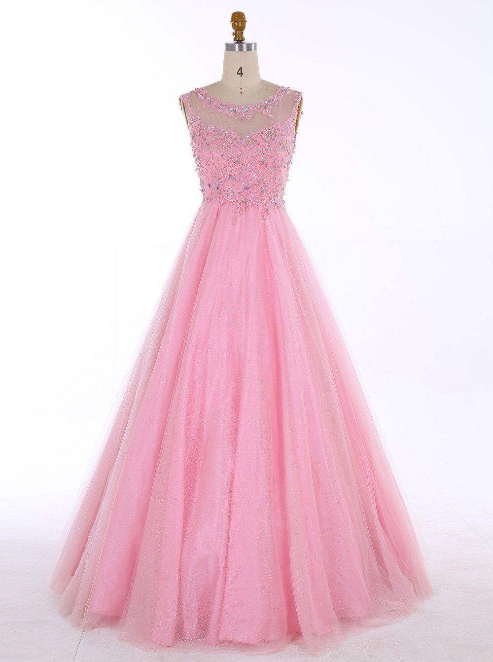Pink prom dressescute sweet dressesprincess prom dressprom