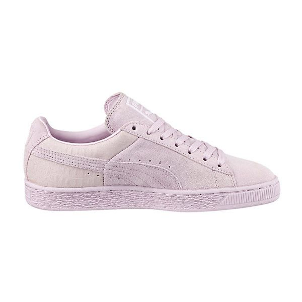 6c9d703a8000 Puma Suede Classic Emboss Women s Sneakers ( 70) ❤ liked on Polyvore  featuring shoes