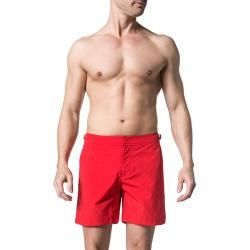 Photo of Orlebar Brown swim shorts men, microfiber, red Orlebar Brown