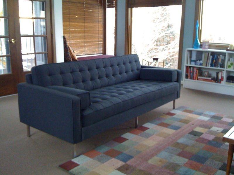 ... Dark Blue Gus Modern Sofa ...