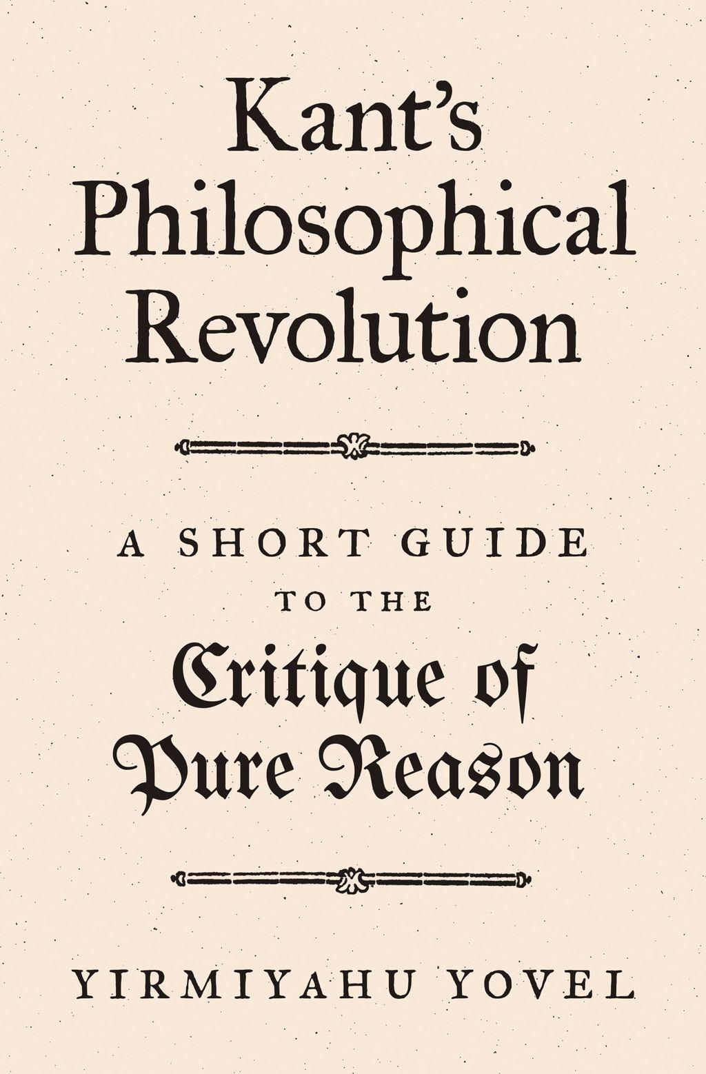 Kant's Philosophical Revolution (eBook) Modern