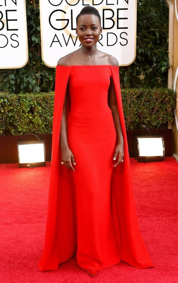 Lupita Nyong'o in Ralph Lauren is utter perfection.