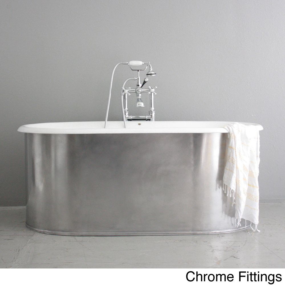 The waverleyu from penhaglion inch cast iron doubleended bathtub