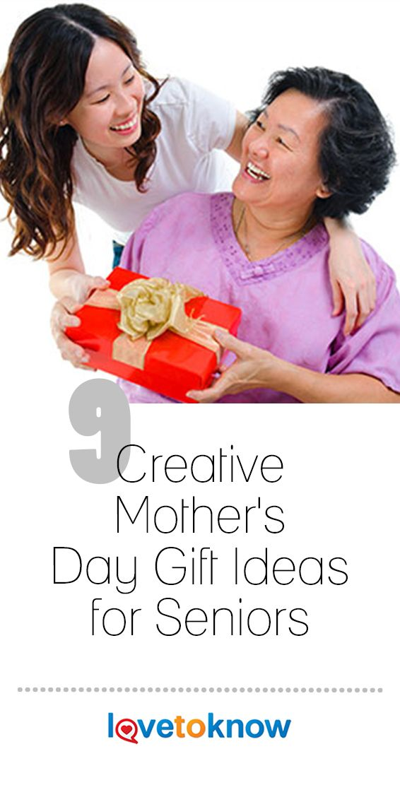 9 Creative Mother's Day Gift Ideas for Seniors   Creative ...