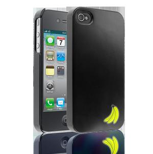 iPhone 4/4S Case - Bananabeat Banana Bunch