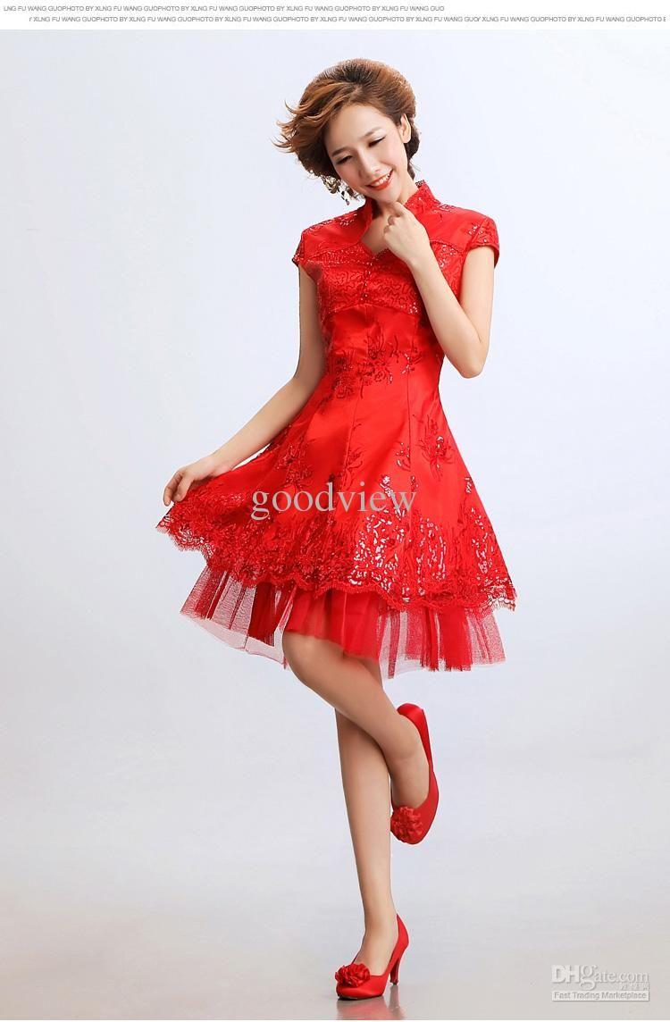 Wholesale Wedding Cheongsam - Buy Modern Ball Gown Cheongsam Chinese ...