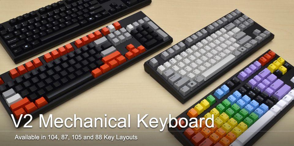 WASD Keyboards Custom Mechanical Keyboards and Cherry MX Keycaps