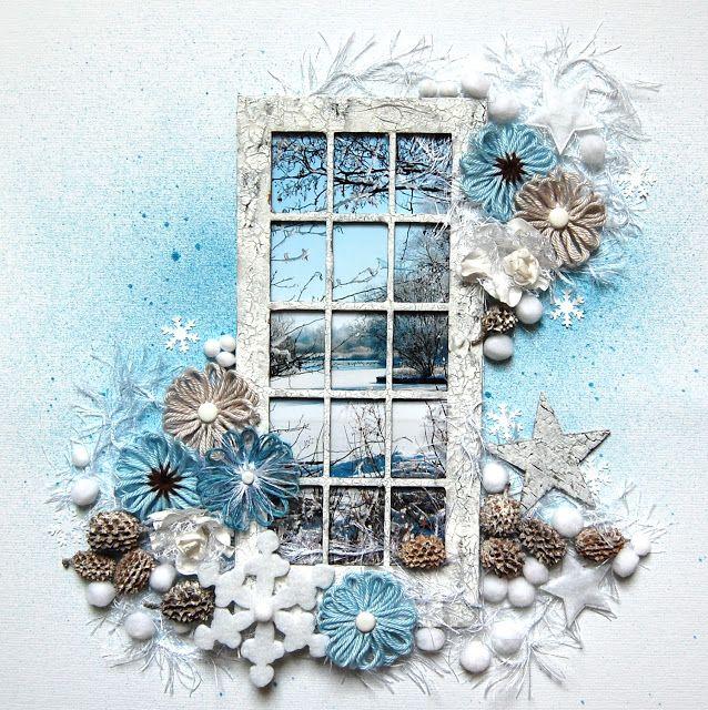 Incorniciare la foto di un paesaggio con una finta finestra bella idea scrapbooking - La finestra di fronte soundtrack ...