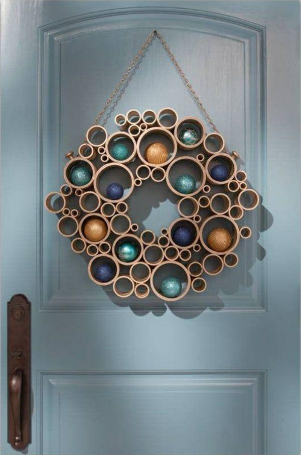 1001 adventskranz ideen und bilder f r ihre. Black Bedroom Furniture Sets. Home Design Ideas
