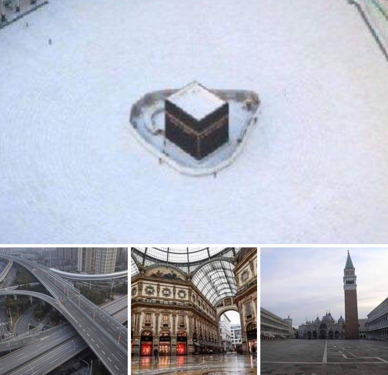 ليست بحرب وقنابل نووية من جعل شوارع العالم خالية إنه مخلوق من مخلوقات الله صغير لايرى بالعين المجردة أرعب أكبر دول العالم وما يع Landmarks Louvre Travel