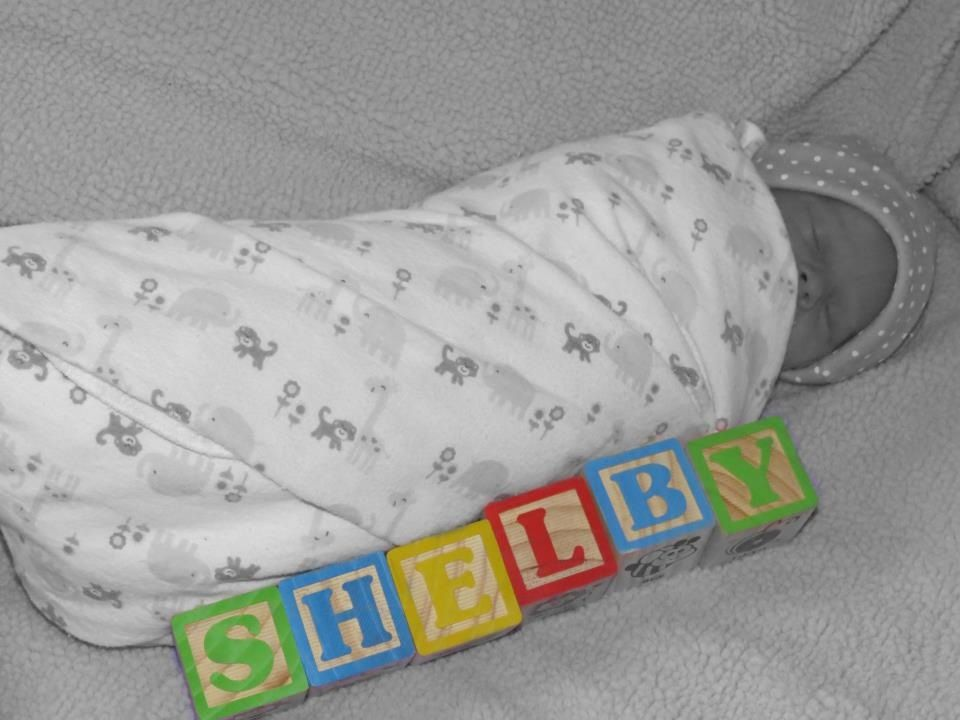 Newborn name reveal