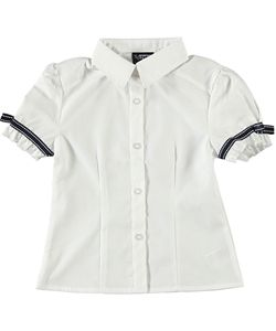 French Toast Girls Button Down Shirt
