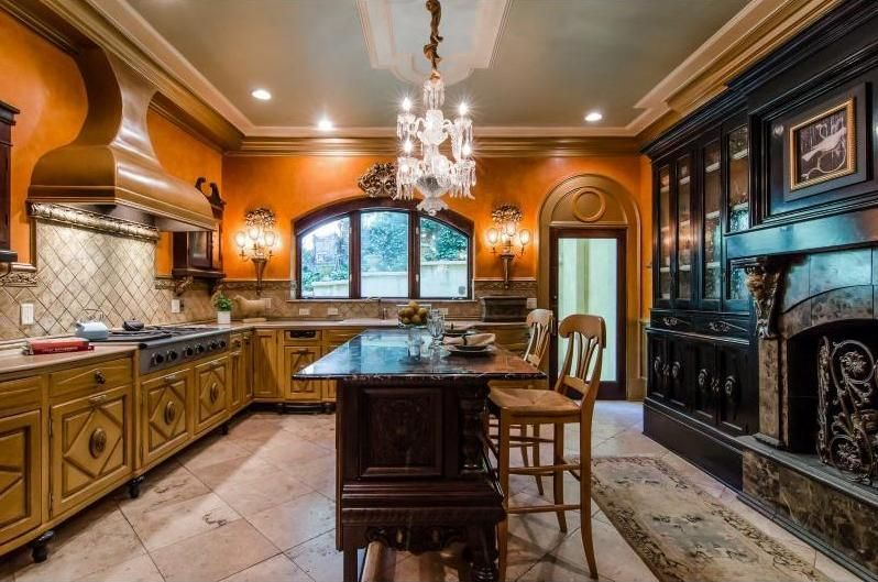 Old World Kitchens Old World Gothic And Victorian Interior Design