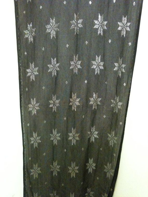 Assuit fabric 27 x 80  perfect condition by Talanesea on Etsy, $115.00