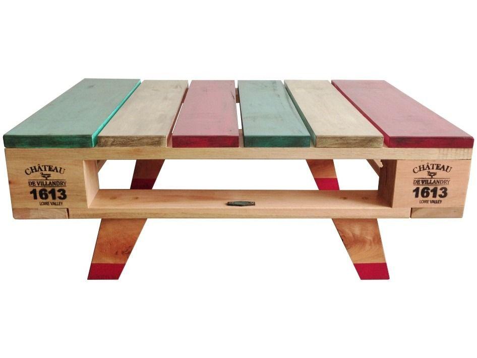 In teresa deco mesa ratona living estar tipo pallet for Mesas de tarimas recicladas