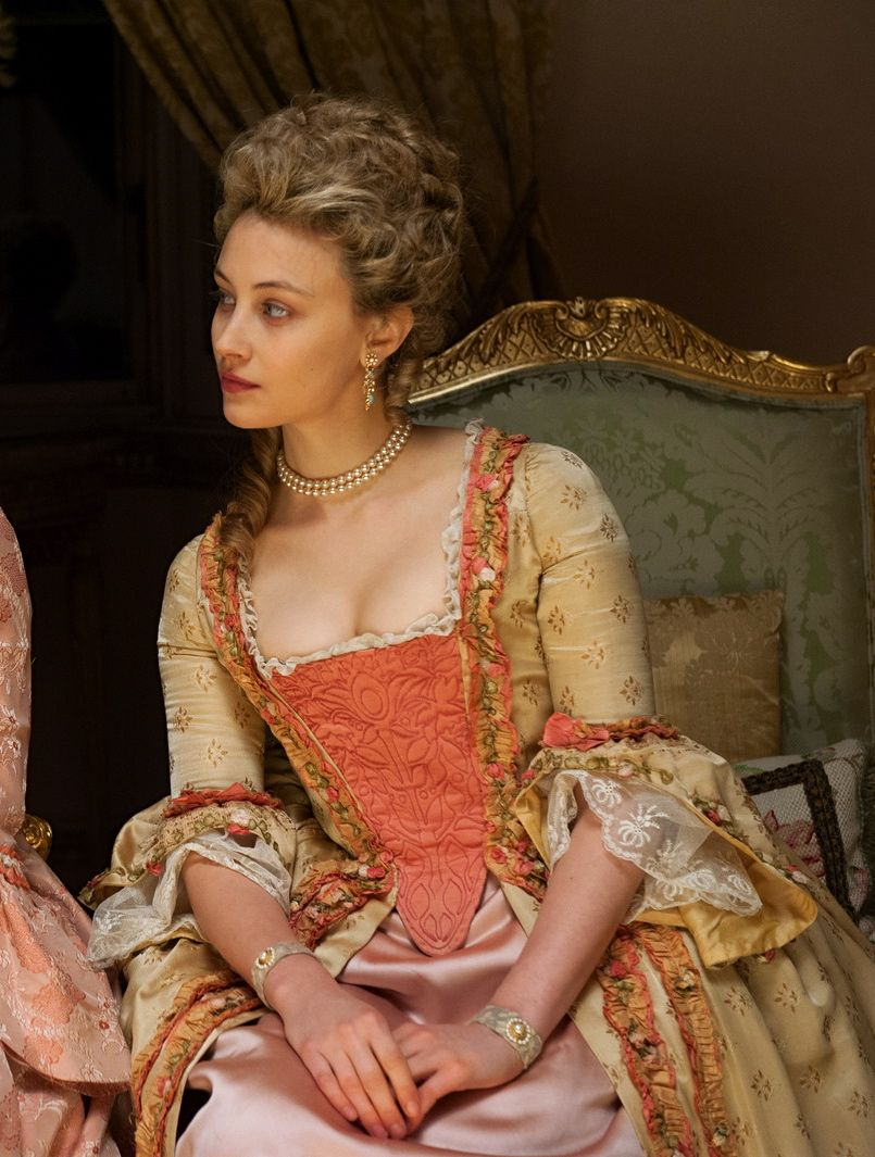 the-garden-of-delights: Sarah Gadon as Lady Elizabeth Murray in ...