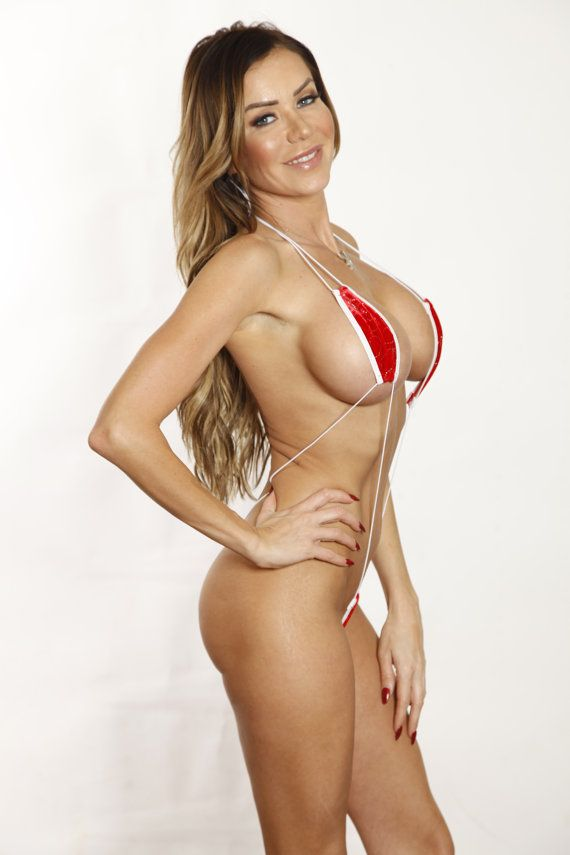 6c545af8a76e5 Bitsy s Bikinis Sexy Red Velvet Silver Sequin by BitsysBikinis
