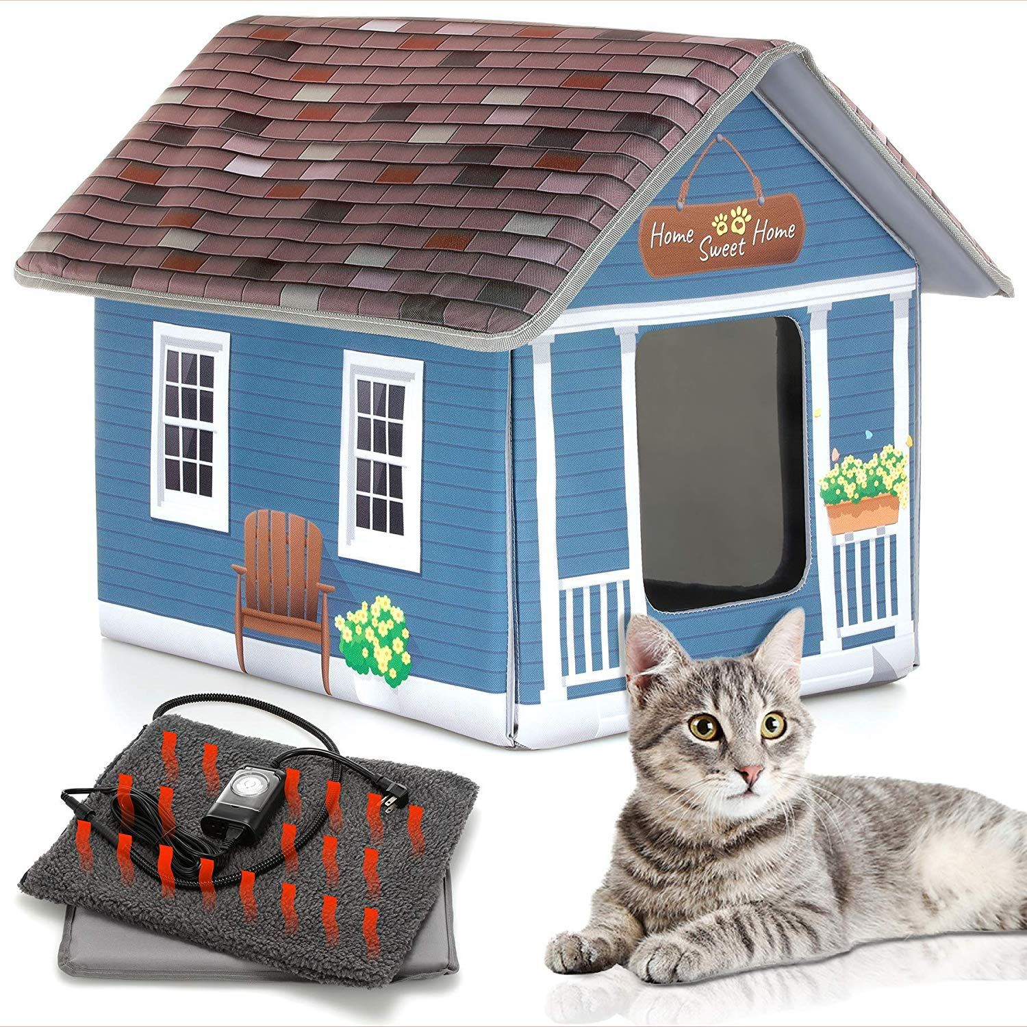 Heated Cat Houses for Outdoor Cats tops the charts in