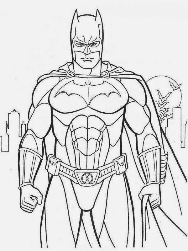Colorir Herois Pesquisa Google Desenhos Para Colorir Batman