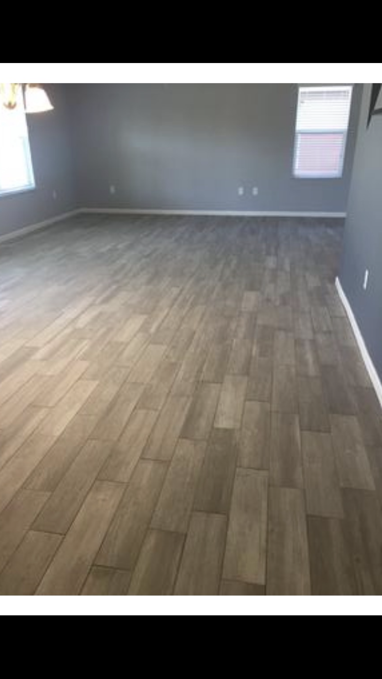 del conca woods vintage gray wood look porcelain floor and wall