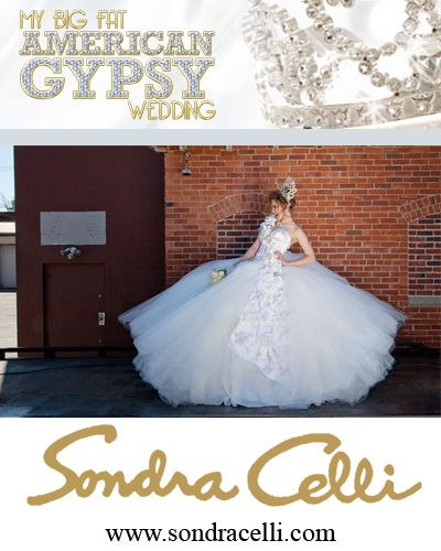 somdra celli es diseñadora de vestidos de novia en bodas gitanas en