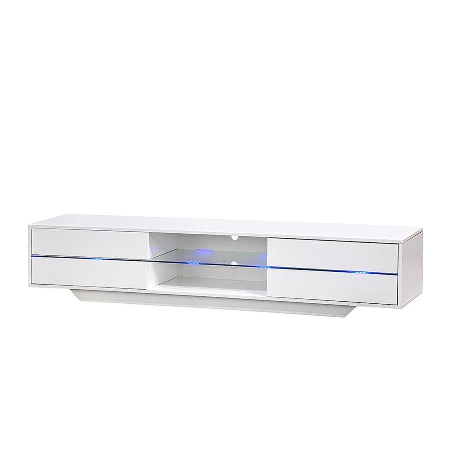 Tv-meubel Claire - met RGB-LED-verlichting | Woning | Pinterest