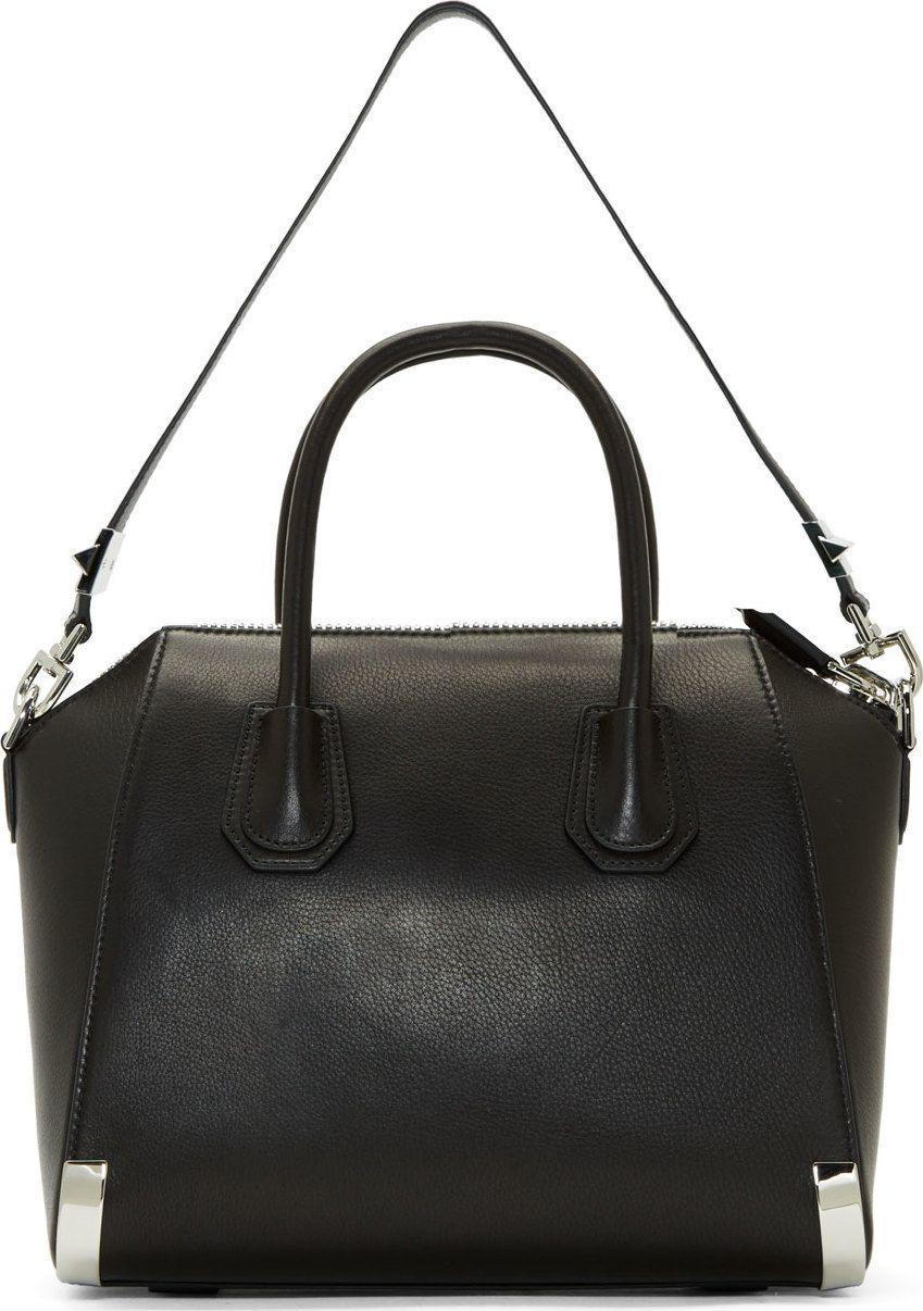 NEW $1450 SAINT LAURENT Black Leather YSL MONOGRAM COATED CANVAS Briefcase BAG