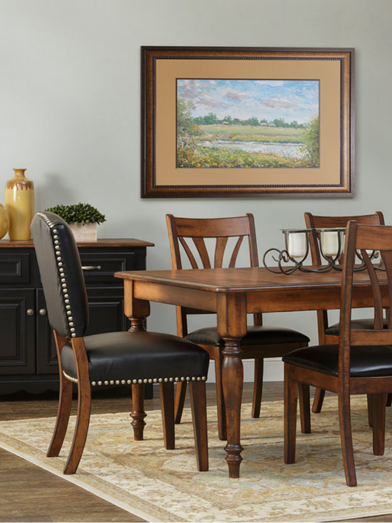 Traditional Furniture With Modern Allusions Handcrafted From Rich