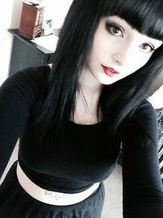 Goth Hair Bangs Google Search Draculaura Irl