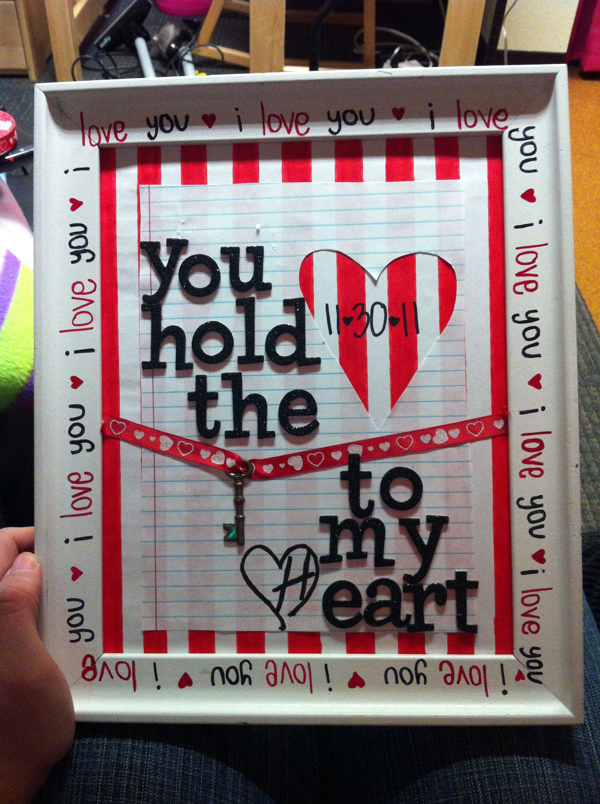 Diy Valentines Day Gift To Bf