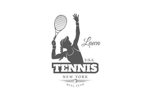 16 Tennis Logos Templates Logo Templates Templates Logos