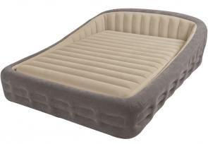 Intex Comfort Frame Queen Size Air Mattress Air Mattress Camping