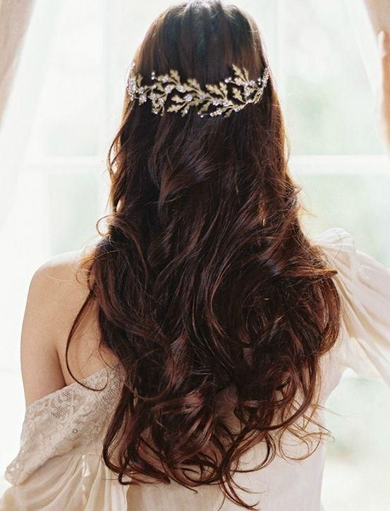 The Next Big Trend in Wedding Hair: Heavy