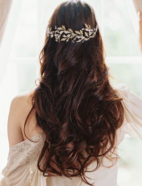 The Next Big Trend in Wedding Hair: Heavy Metal Accessories ...