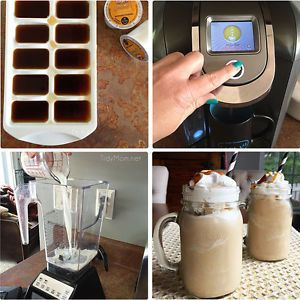 I'm a huge coffee lover. Every day starts with a few steamy cups of joe, but in the warmer months, I crave an icy cold, frozen frappuccino later in the day!  That little habit can get expensive at the...