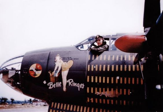 martin b 26 marauder belle ringer the nose art at ww2 art of airplanes nose art. Black Bedroom Furniture Sets. Home Design Ideas