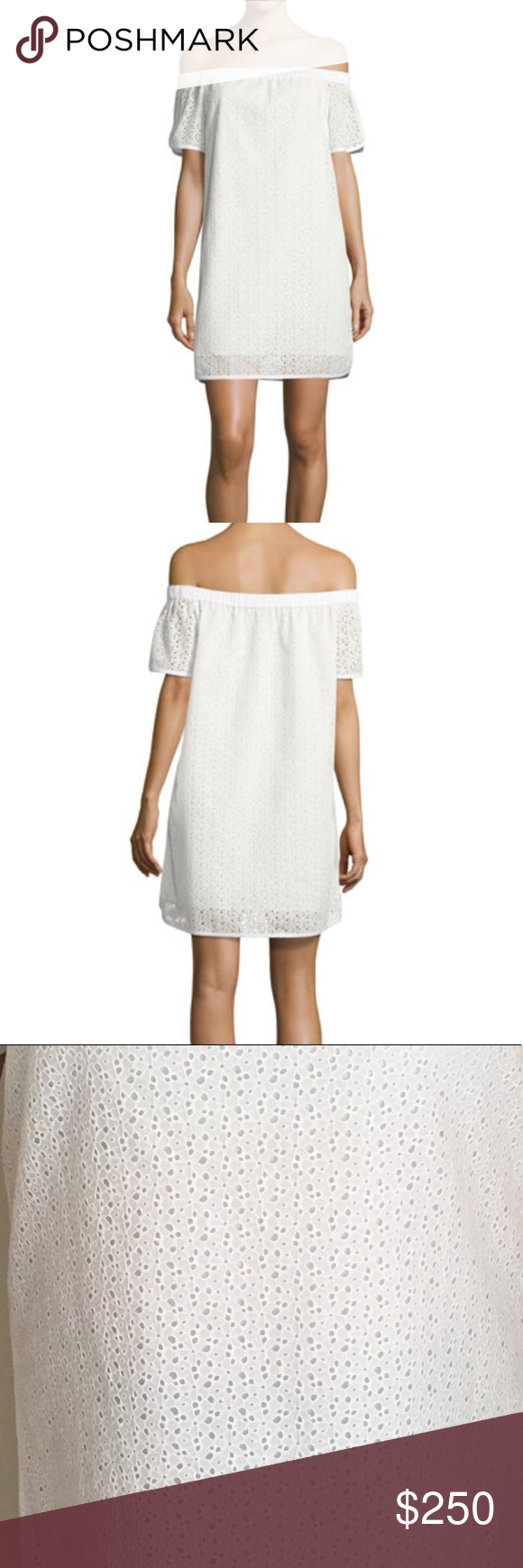 ed53a634c80bd7 Rag Bone Flavia Lace Off-the-Shoulder White Dress Rag   Bone